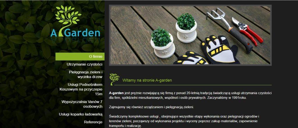 A Garden - Pielęgnacja Ogrodów