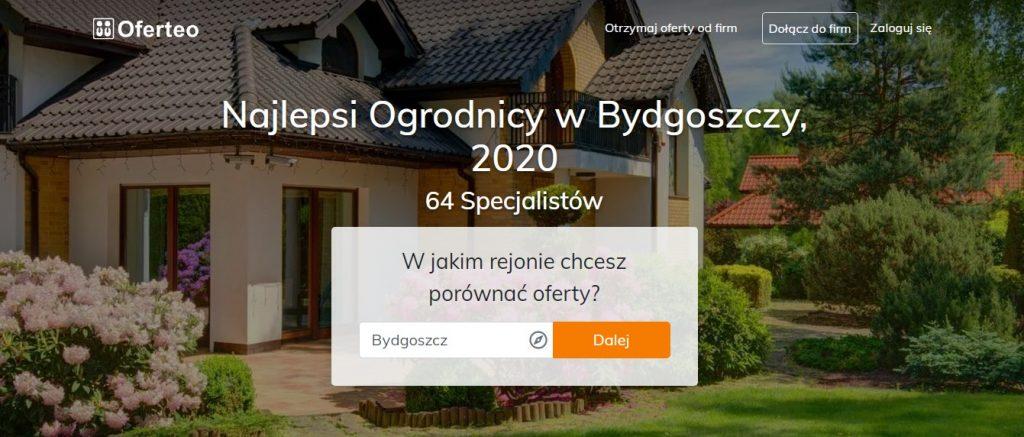 Najlepsi Ogrodnicy w Bydgoszczy, 2020 - 64 Specjalistów