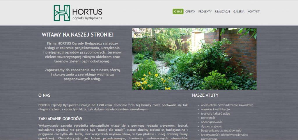 Ogrody Bydgoszcz Hortus