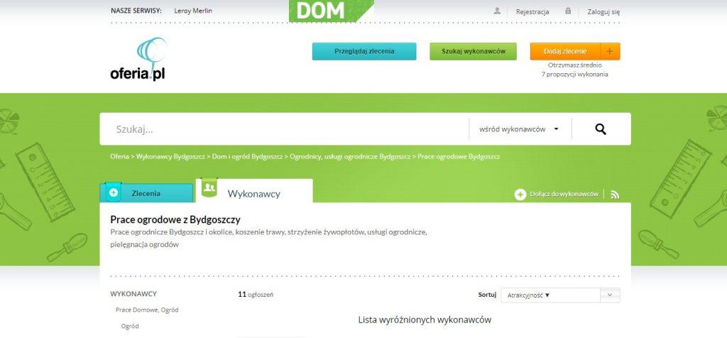 Prace ogrodnicze Bydgoszcz i okolice, koszenie trawy, strzyżenie żywopłotów, usługi ogrodnicze, pielęgnacja ogrodów