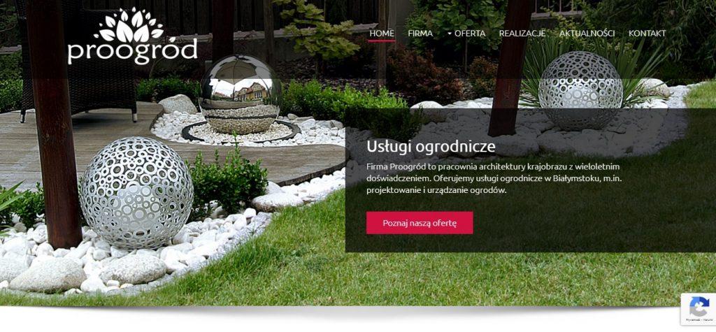 Profesjonalne projektowanie ogrodów Proogród