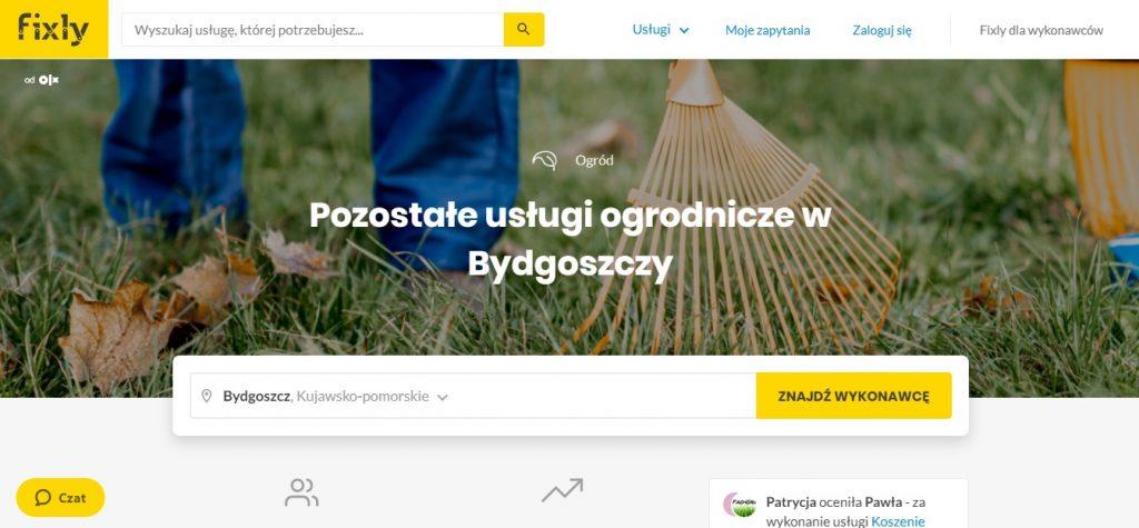 Usługi ogrodnicze w Bydgoszczy